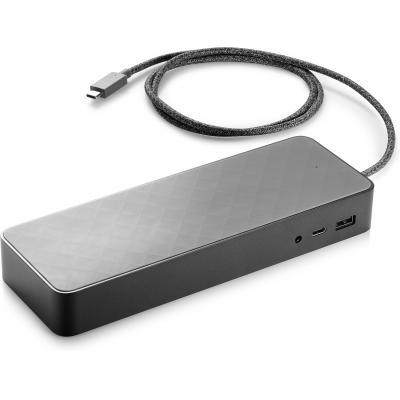 HP USB-C Universal Dock Non Flash docking station - Zwart