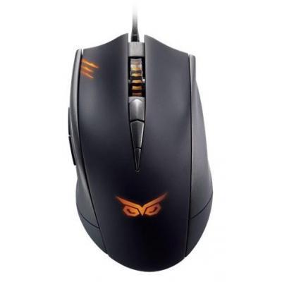 Asus computermuis: Strix Claw - Zwart, Oranje