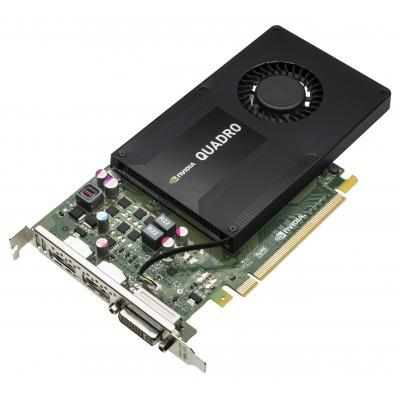 Hp videokaart: NVIDIA Quadro K2200 4-GB grafische kaart