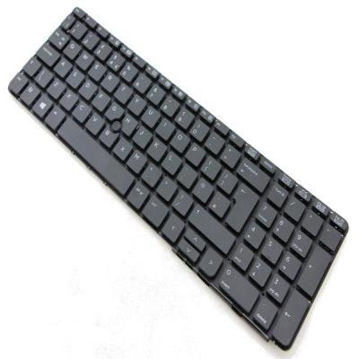 HP Advanced keyboard with toucad - Spill resistant design with drain - Includes connector cable - UK layout Notebook .....