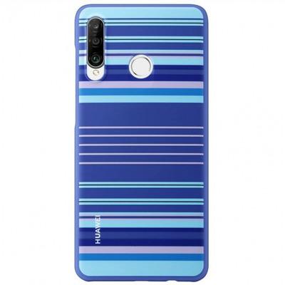Huawei TPU Case Blue Lines Mobile phone case - Blauw