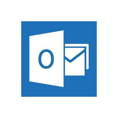 Microsoft email software: Outlook 2013, x32/64, 1u, ENG