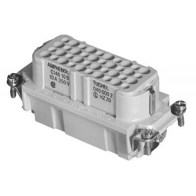 Amphenol elektrische aansluitklem: mate - C146 D - Grijs