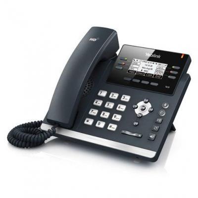 Yealink ip telefoon: SIP-T41P - Zwart