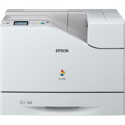 Epson WorkForce AL‑C500DN Laserprinter - Zwart, Cyaan, Magenta, Geel