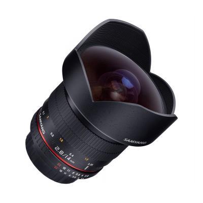Samyang camera lens: 14mm F2.8 ED AS IF UMC - Zwart