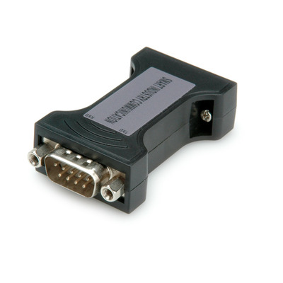 Value RS232 Opto-koppelstuk, met galvanische scheiding, 1 Port Kabel adapter - Zwart