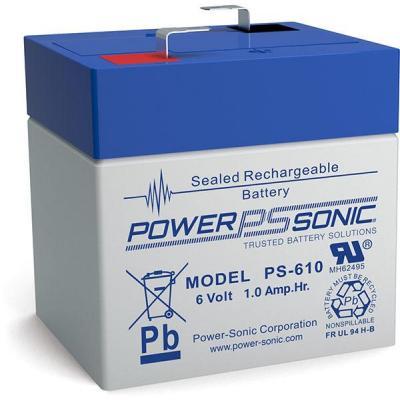 Power-Sonic PS-610 UPS batterij - Blauw, Grijs