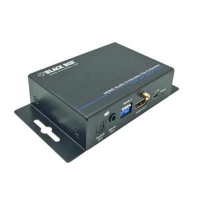 Black Box HDMI, USB mini, 3.5mm, TOSlink, 26.1x94.9x66.2 mmm Audio converter - Zwart