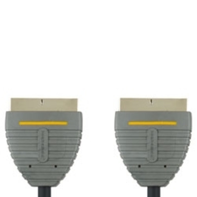Bandridge : 3m Scart Cable - Zwart