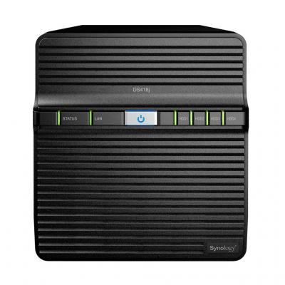 Synology DiskStation DS418J NAS - Zwart