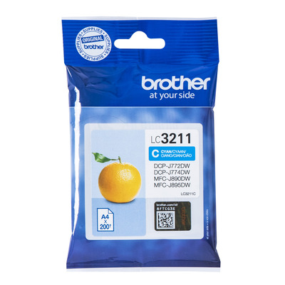 Brother LC-3211C Inktcartridge - Cyaan