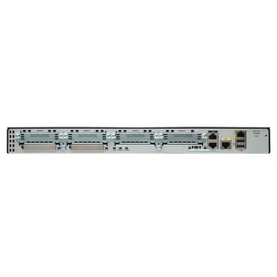 Cisco router: 2901 - Zwart, Zilver