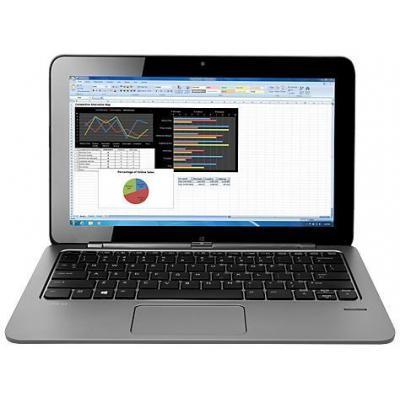 HP tablet: Elite x2 1011 G1 - Intel Core M5 - Windows 10 Pro - 128GB SSD - Zilver