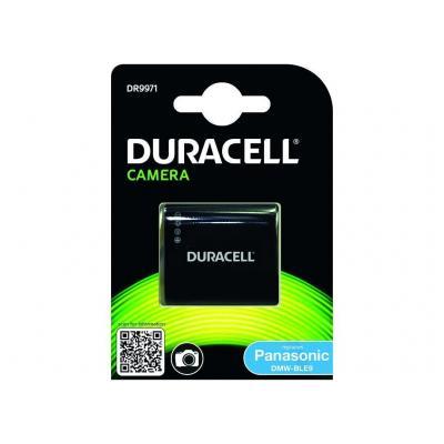 Duracell : Camera Battery - replaces Panasonic DMW-BLE9 / DMW-BLG10 Battery - Zwart