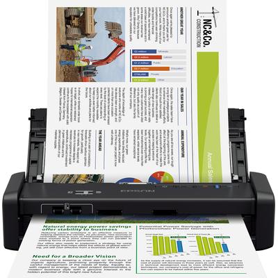 Epson WorkForce DS-360W Scanner - Zwart