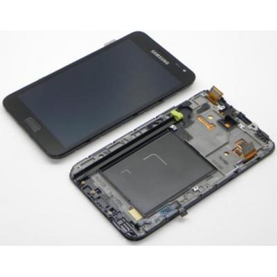 Samsung mobile phone spare part: GT-N7000 Galaxy Note, display, touchscreen, blue