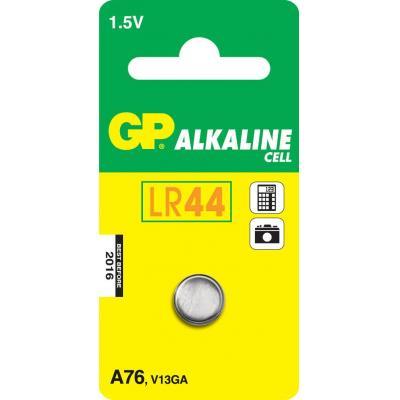Gp batteries batterij: Alkaline Cell A76 - Roestvrijstaal