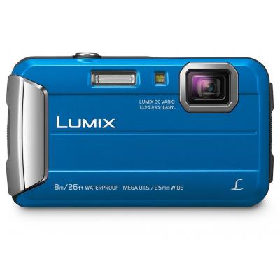 Panasonic digitale camera: Lumix DMC-FT30 - Blauw