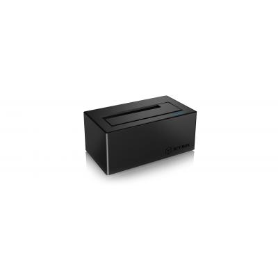 Icy box HDD/SSD docking station: IB-117-U31 - Zwart
