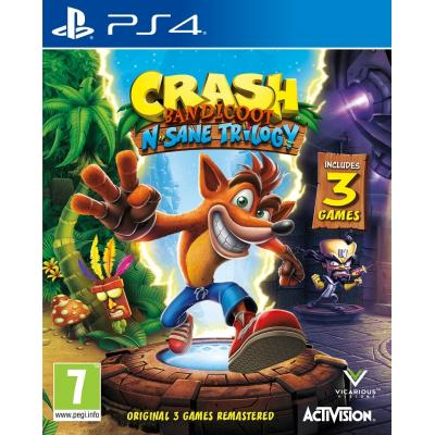 Activision game: Crash Bandicoot N.Sane Trilogy  PS4