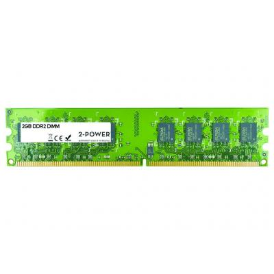 2-power RAM-geheugen: 2GB DDR2 800MHz DIMM Memory - replaces KTH-XW4400C6/2G