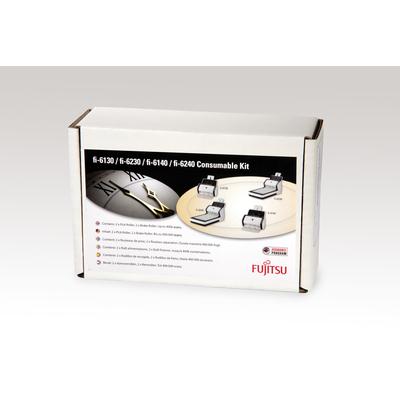 Fujitsu printing equipment spare part: Sets met verbruiksartikelen voor fi-6130LA, fi-6230LA, fi-6130ZLA, fi-6230ZLA, .....