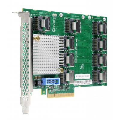 Hewlett packard enterprise interfaceadapter: 12Gb SAS Expander Card with Cables for DL380 Gen9 (Refurbished LG)