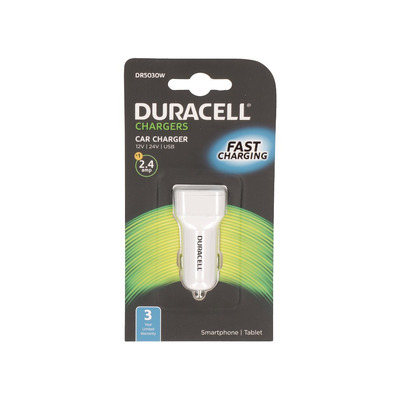 Duracell DR5030W Oplader - Wit