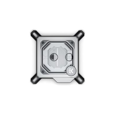 EK Water Blocks EK-Velocity D-RGB - Nickel + Plexi Cooling accessoire - Zwart,Nikkel,Transparant