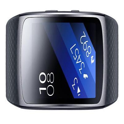 Samsung wearable: Gear Fit2 - Zwart