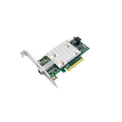 Adaptec interfaceadapter: SmartHBA 2100-4i4e - Goud, Groen, Zilver