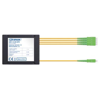 Spaun 815004 Kabel splitter of combiner - Zwart
