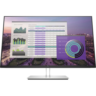 HP EliteDisplay E324q Monitor - Grijs - Demo model