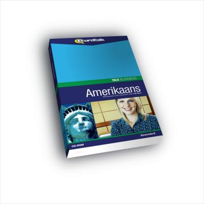Eurotalk educatieve software: Talk Business, Leer Amerikaans Engels (Gemiddeld, Gevorderd)