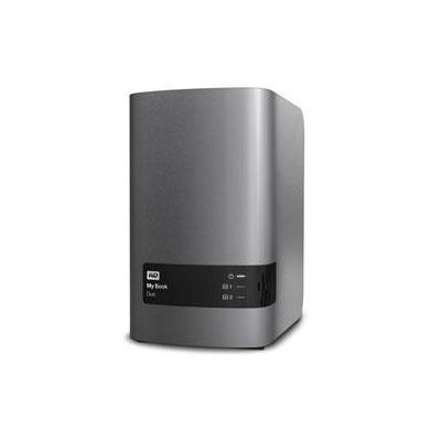Western digital NAS: My Book Duo 12TB - Roestvrijstaal
