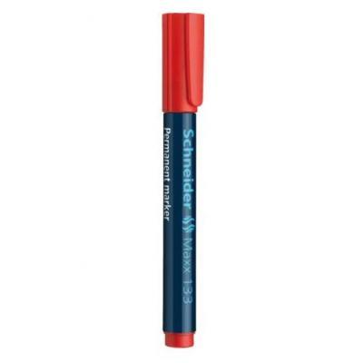 Schneider marker: Maxx 133 - Zwart, Rood