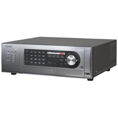 Panasonic digitale video recorder: WJ-HD716 8TB - Zwart, Grijs