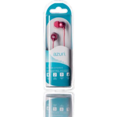 Azuri AZIEPHFPNK Headset - Roze