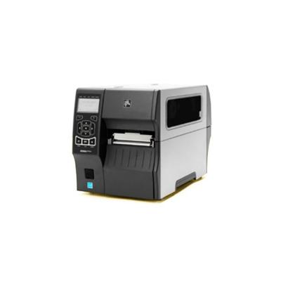Zebra labelprinter: ZT400 - Zwart, Grijs