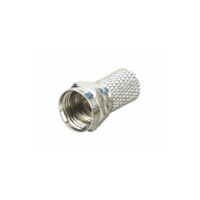 Schwaiger coaxconnector: FST6508 531 - Nikkel