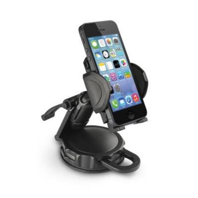 Macally houder: dMount autodashboard monteerbare telefoonhouder - Zwart