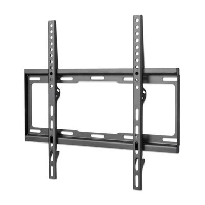 """Manhattan Monitor/TV Wall Mount (fixed), 1 screen, 32-55"""", Vesa 200x200 to 400x400mm, Max 40kg, Black ....."""