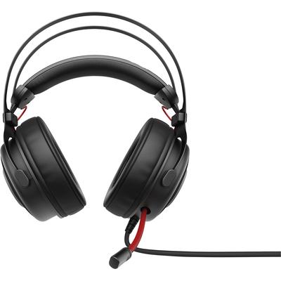 HP OMEN 800 Headset - Zwart, Rood