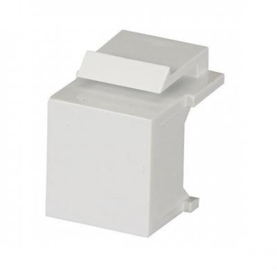 Black box : GigaStation2 Blank Snap Fitting, White, 10-Pack - Wit