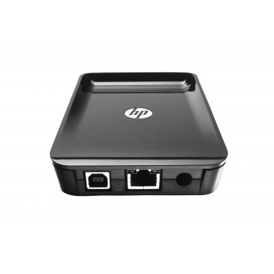 Hp printer server: Jetdirect Jetdirect 2900nw printserver - Zwart