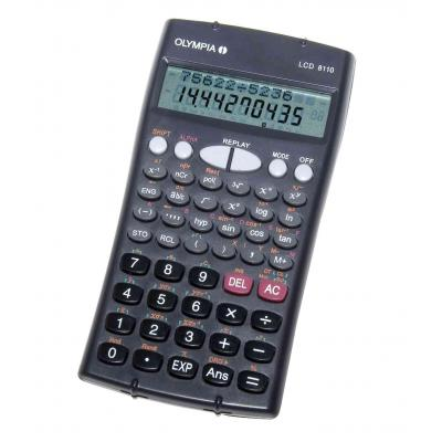 Olympia LCD 8110 Calculator - Antraciet