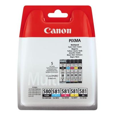 Canon 2024C006 Inktcartridge - Zwart, Cyaan, Magenta, Geel