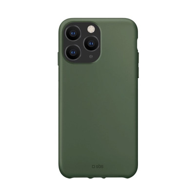 SBS TPU case, Green, Recycled plastic, iPhone 12 Pro Max Mobile phone case - Groen