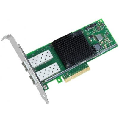 Intel netwerkkaart: Ethernet Converged Network Adapter X710-DA2 - Zwart, Groen